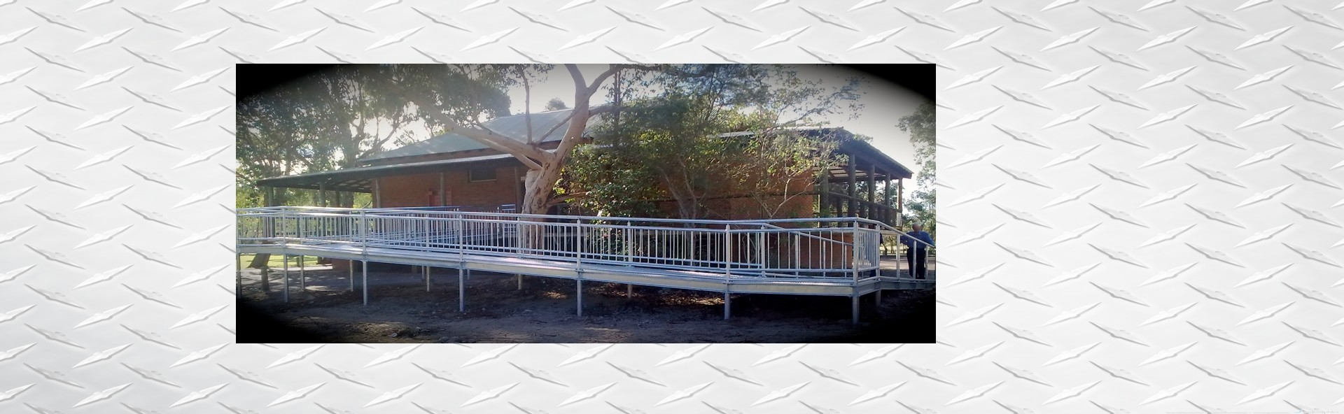 A1 Steel and Alloy custom ramp and handrails